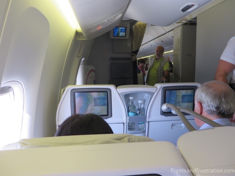 The seats in front on air france premium economy reviews