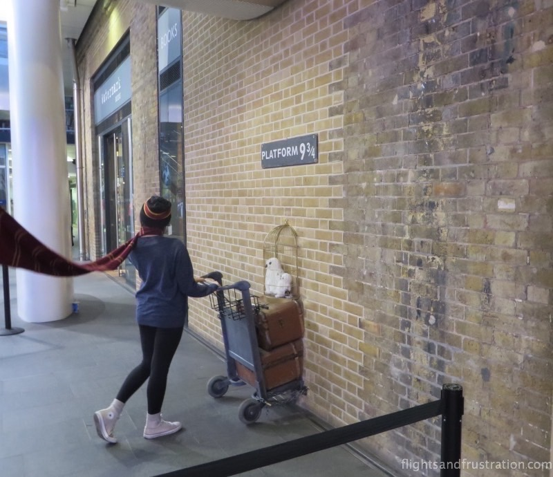 The Harry Potter platform in London