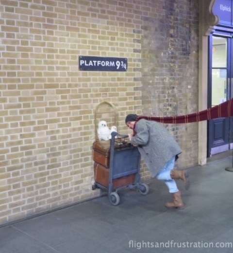 Trying to get to the Hogwarts Express
