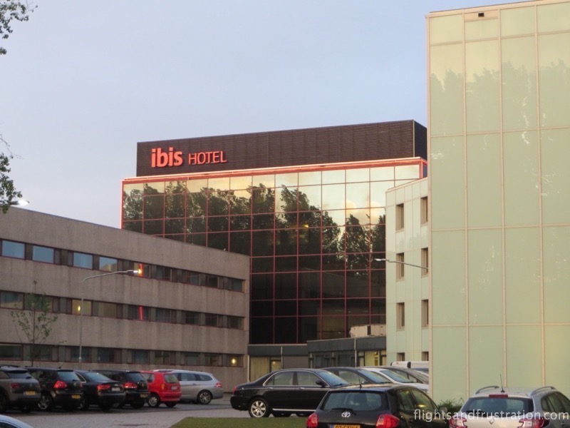 The normal price Ibis Hotel Schiphol is across the car park