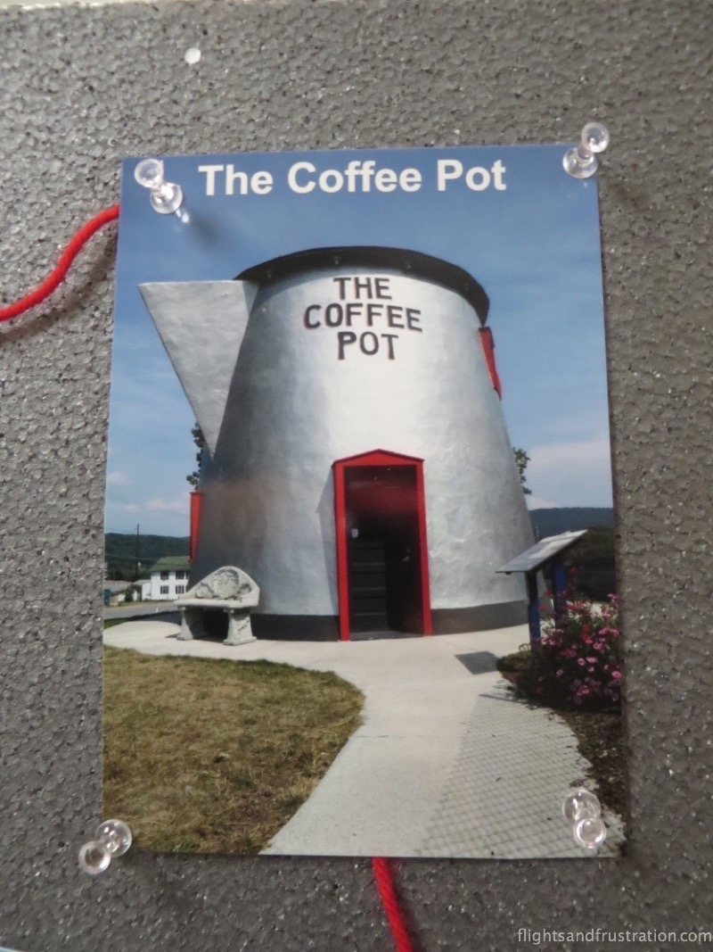 A picture of the modern day Coffee Pot
