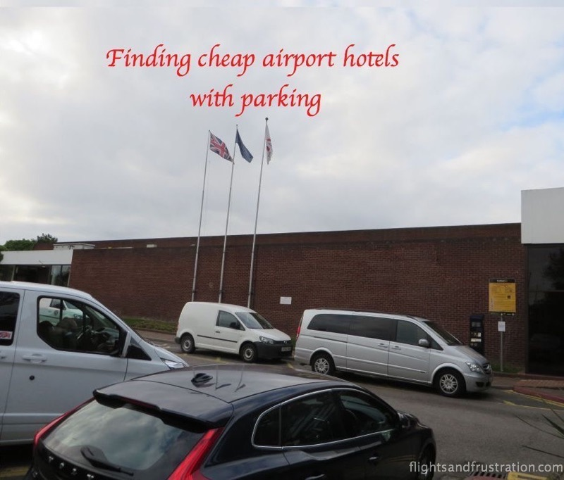 Finding cheap Airport hotels with parking