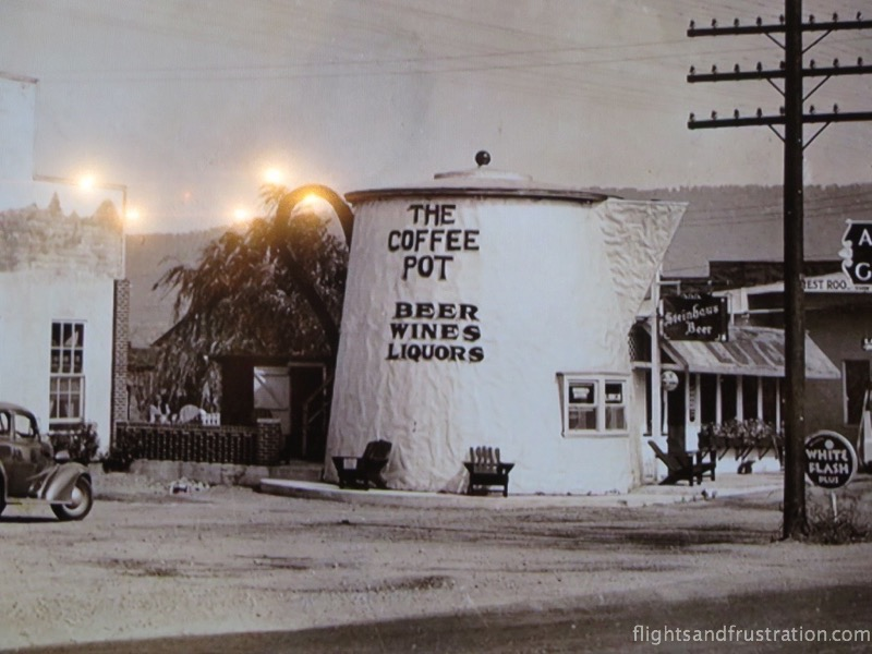 The Coffee Pot in the early days
