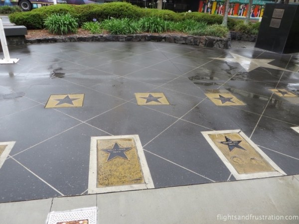 A star studded pavement