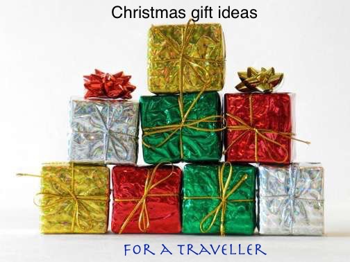 Christmas gift ideas for a traveller
