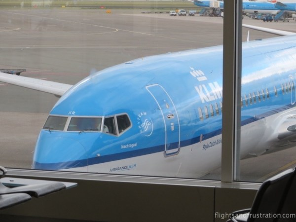 KLM plane name Nachtegaal aka Nightingale for names of planes