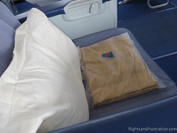 The China Southern Business Class seat