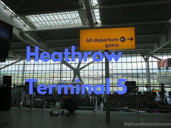 Heathrow Terminal 5 header image