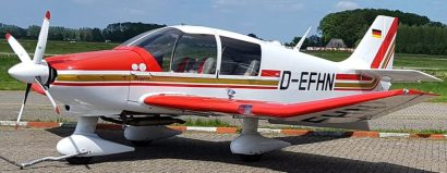 Robin DR-400 ons vier persoons lesvliegtuig