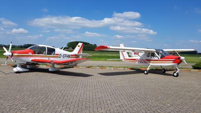Onze vliegtuigen
