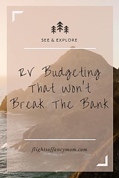 RV Budgeting