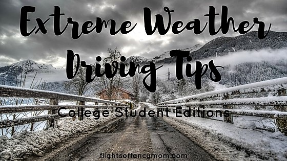 Extreme Weather Driving - College Student Editions