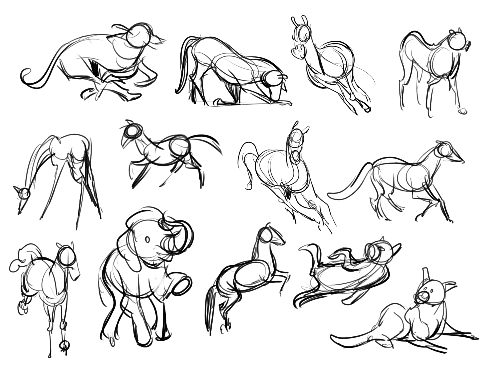 30 Second Animal Gestures