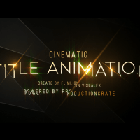 A Wrinkle in Time Title Animation in After Effects