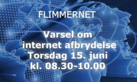 internet afbrydelse