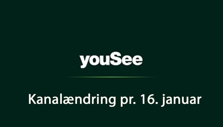 yousee kanalændring 2018