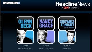 CNN Headline NewsWebsite
