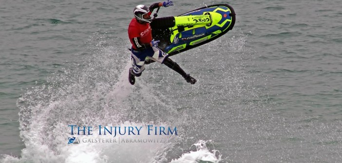 Boating accidents can happen with jet skis