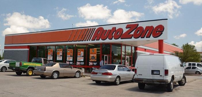 AutoZone retail store front view