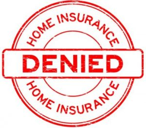 mage Insurance claim denied stamp for policy