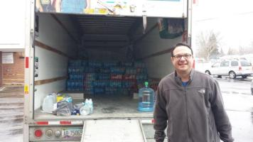 Flint Jewish Federation water donations (1)
