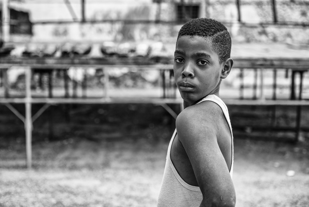 "Boys between 6 and 10 years old practice boxing in the boxing school, ""Gimnasio de Boxeo Ninos de Cuba"" in Havana, Cuba. - PHOTO: Henry Milleo"
