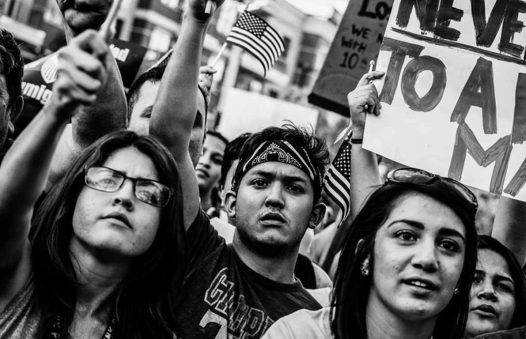 USA. Trump, Texas, politics, photo essay, FLINT, music-5