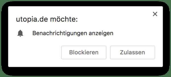 Notification Browser Fail