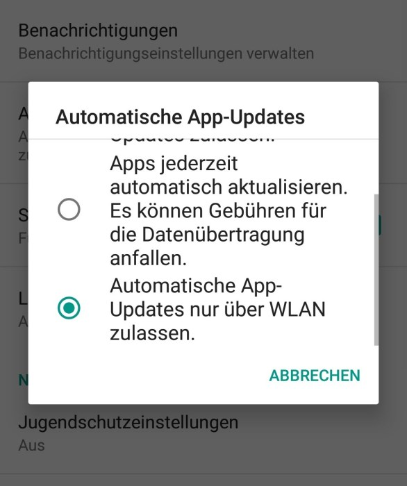 App Updates Android 2