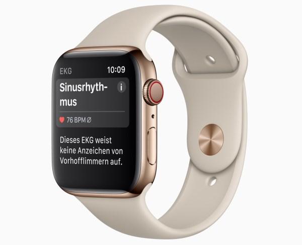 Apple Watch Ecg Result De Screen 03272019