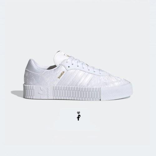 Adidas Sambarose Cloud White