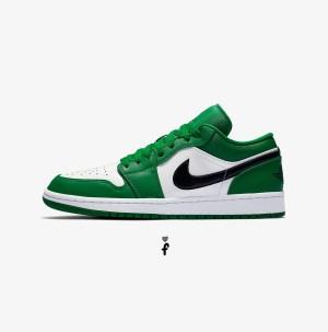 Nike Air Jordan 1 Low 'Pine Green'