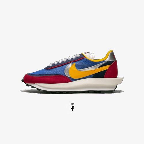 Sacai x Nike LD Waffle Blue Multi