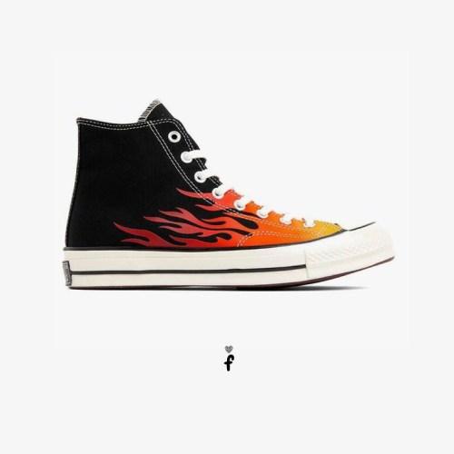 Converse Chuck Flame Fire