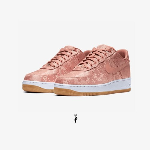 Nike Air Force 1 Clot low Rose Gold