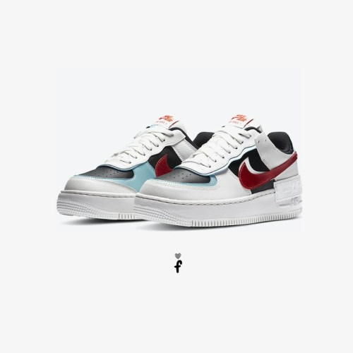 Nike Air Force 1 Shadow Bleached Aqua