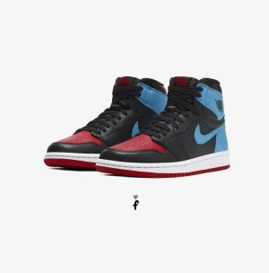 Nike Air Jordan 1 High OG UNC To