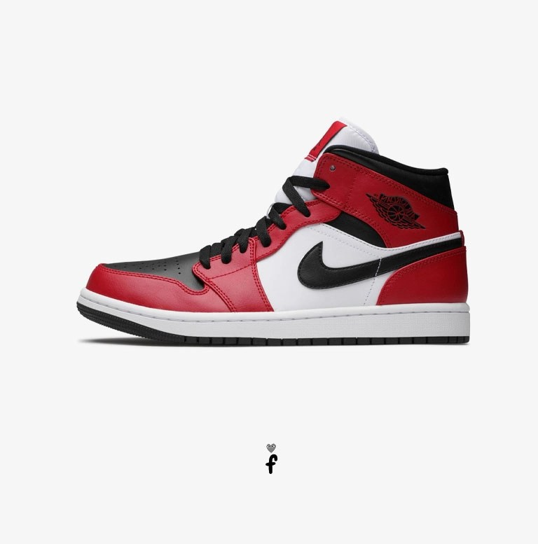 jordan air 1 mid - zapatillas altas