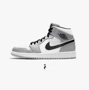 Nike Air Jordan 1 Mid Light Ash