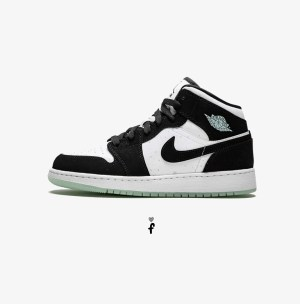 Nike Air Jordan 1 Mid Panda