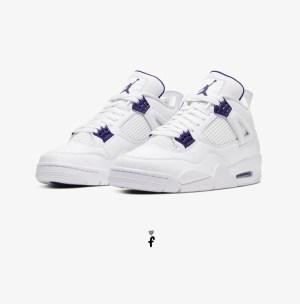 Nike Air Jordan 4 Purple Metallic
