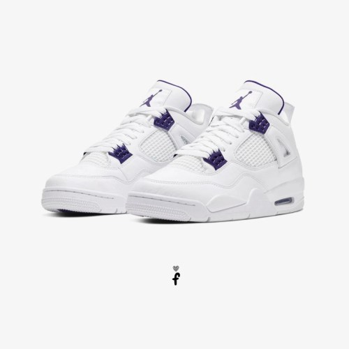 Nike Air Jordan 4 Purple Metallic