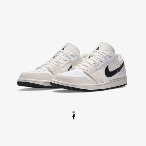 Air Jordan 1 Low Off White Sail