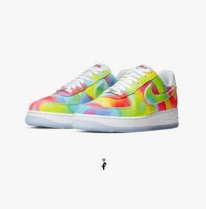 Nike Air Force 1 Tie Dye Chicago
