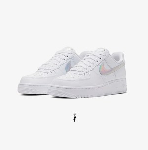 Nike Women's Air Force 1 '07 Iridescent