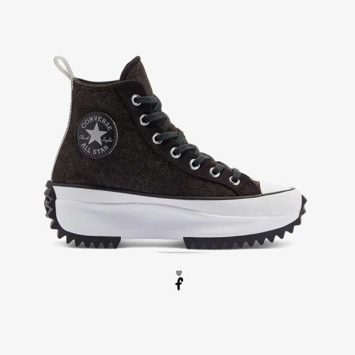 Converse Black Ice Run Star Hike High Top Negras