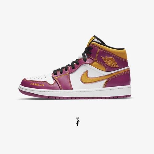 Nike Air Jordan 1 Mid Dia de los Muertos