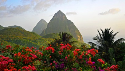 The Pitons, St. Lucia