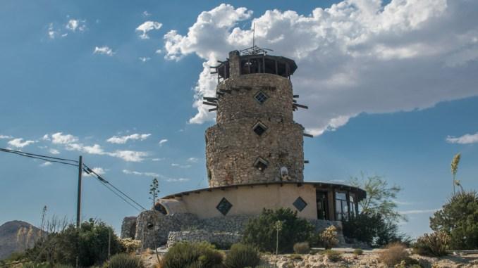 Desert view Tower in Jacumba, California