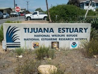 Tijuana Estuary sign
